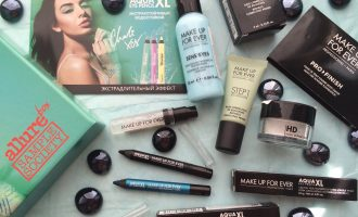 Allurebox №6 июнь 2016 & MAKE UP FOR EVER Box