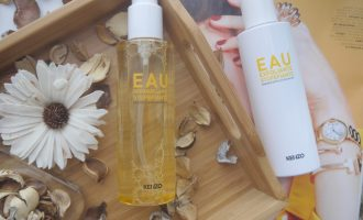 Kenzoki Amazing Cleansing Water, Kenzoki Amazing Exfoliating Water. Review Отзыв