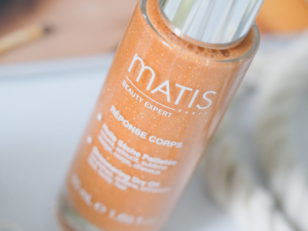 Matis масло сухое с эффектом мерцания для лица тела и волос