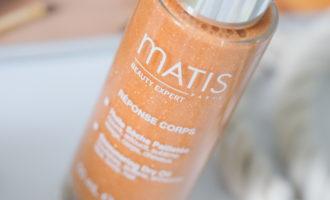 «Золотая» новинка MATIS — Сухое масло для лица, тела и волос Обзор