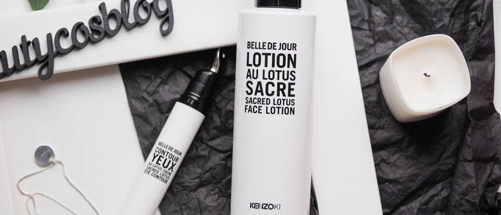 Kenzoki Belle De Jour Новинки 2018: Крем для глаз & Лосьон для лица