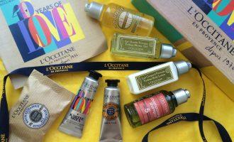 Allure Sample Society L'occitane box