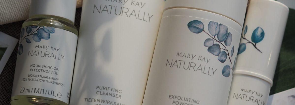 Натуральная линейка Mary Kay Naturally. Очищающее средство, пудра-эксфолиант, питательное масло, увлажняющий стик